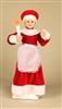 STERLING 24'' A/C ANIMATED MRS. CLAUS HOLDING A CANDLE