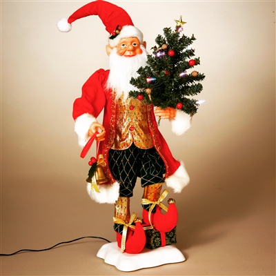STERLING 24'' A/C ANIMATED ELF WITH LED TREE