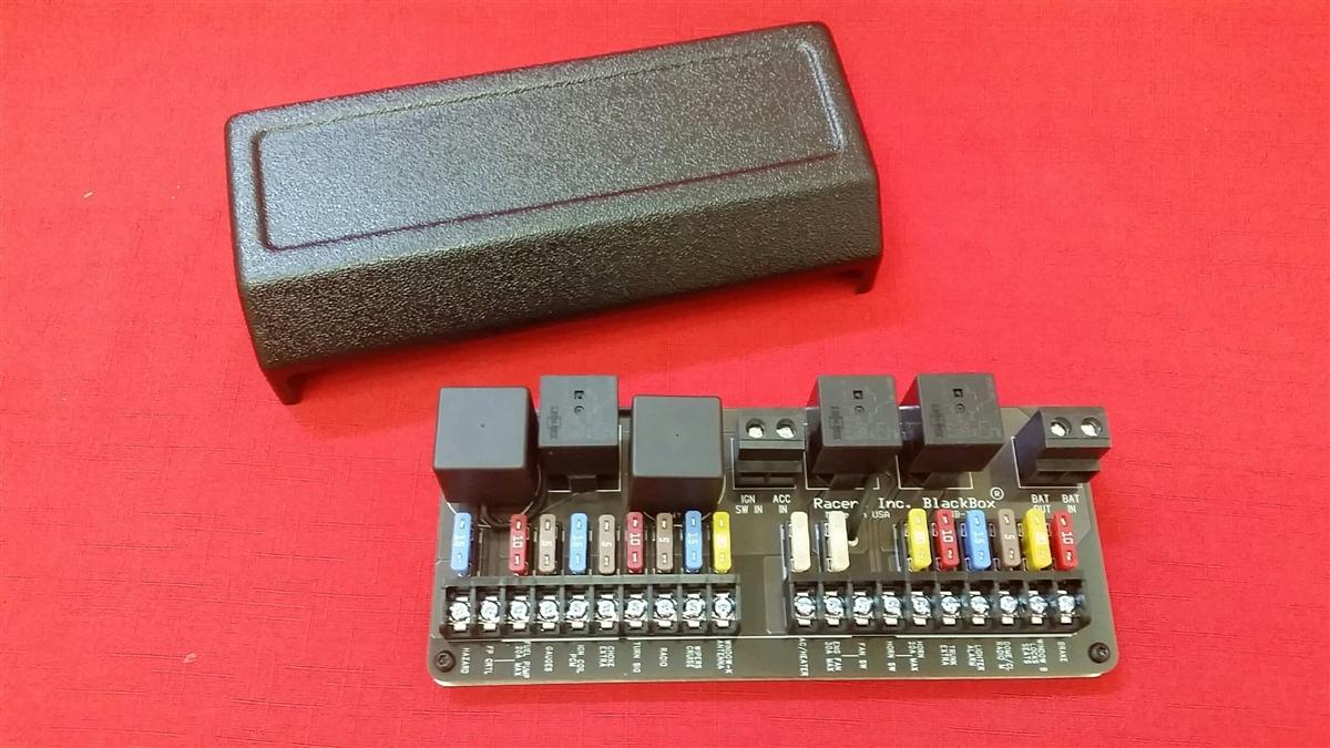 Blackbox Street Rod Wiring Board With Led Flashers Relay