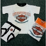 Harley-Davidson Toddler Boy Shirt & Underwear Set