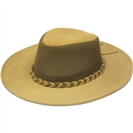 "Leather Cowboy Hats- Henschel ""Explorer"" Breezer Hat"