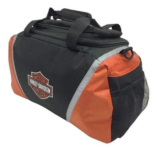 harley-davidson duffle bag - gym bag- leather bound online