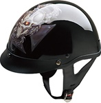 Motorcycle Half Helmet for Men: Dragon