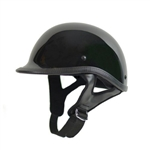 Motorcycle Helmets for Men - Black Polo