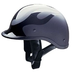 Polo Motorcycle Helmets for Men - Flat Flame HCI-105