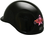 Motorcycle Helmets for Women: Pink Ribbon