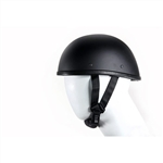 Novelty Motorcycle Helmets: Dull Black