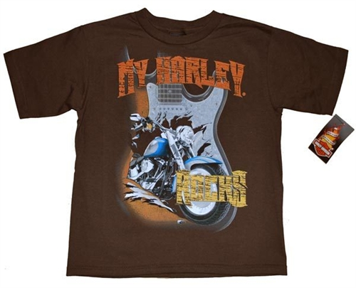 Harley Davidson Kids Clothes Boys T Shirt Clearance Sale