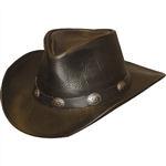 Henschel Leather Black Cowboy Hats: U-Shape-It