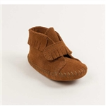 Infant Minnetonka Moccasins - Brown Fringe Bootie
