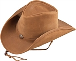 Henschel Lightweight Leather Cowboy Hats