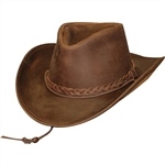 Men's Leather Cowboy Hats: Henschel Hat