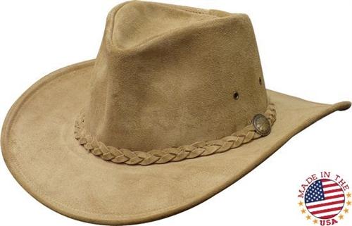 Leather Cowboy Hats - Henschel Weekend Walker Hat - Leather Bound Online 8de0dfed40f4