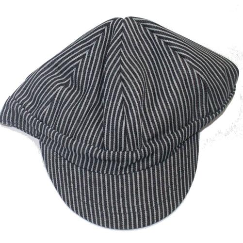 Mens Striped Welders Engineering Cap Welders Hat