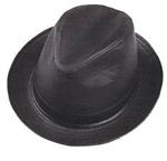 Henschel Leather High Roller Hat