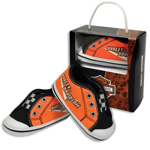 Harley Davidson Baby Clothes Boys Pre Walker Sneakers Leather
