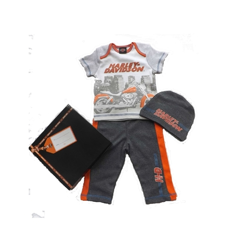 Harley Davidson Baby Clothes Amazing HarleyDavidson Baby Clothes Boys Gift Set Gift Box Leather