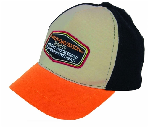 Harley-Davidson Baby Clothes - Boys Hat Baseball Cap - Leather Bound ... b146ebabfa2