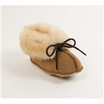 Infant Minnetonka Moccasin Baby Sheepskin Booties