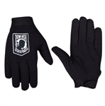 Mens POW MIA Motorcycle Gloves
