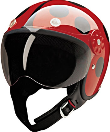 Red Lady Bug Women S Motorcycle Helmets Free Shipping