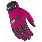 Joe Rocket Womens Motorcycle Gloves - Pink Textile