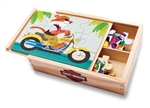Harley-Davidson Gifts: Wooden Jigsaw Puzzle