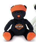 Harley-Davidson Bean Bag Bear: Live to Ride