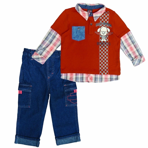 6b9a460e Harley-Davidson Toddler Boy Denim Outfit · View Larger Photo ...
