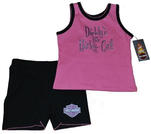Harley Davidson Baby Clothes Classy HarleyDavidson Baby Clothes Daddys Little Harley Girl Leather