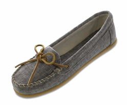 Black Canvas Minnetonka Moccasins: Limited Edition