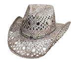 Bullhide Hats: Run A Muck, Gone Crazy Straw Hat
