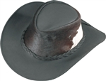 Henschel Leather Hair Hide Cowboy Hat