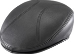 Henschel Black Sheepskin Ascot Driving Cap
