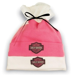 Harley Davidson Baby Clothes Girls Hat Gift Set