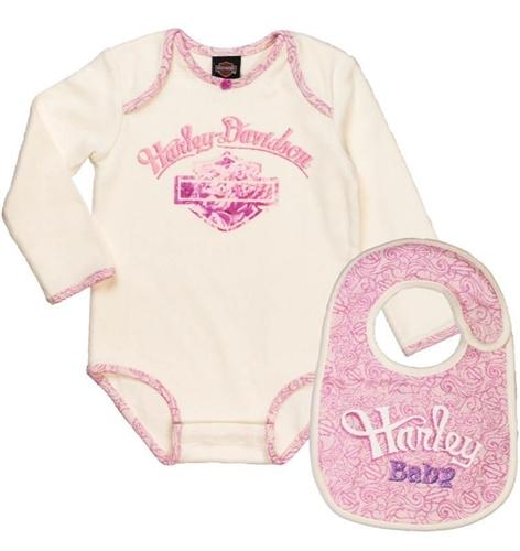 0a97acaf7 Harley-Davidson Baby Clothes - Newborn Girl - Leather Bound Online