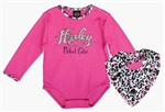Harley-Davidson Baby Girl Daddys Little Rebel Outfit