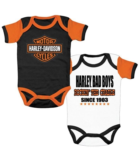 Harley Davidson Baby Clothes Boy S Rockin Romper Leather