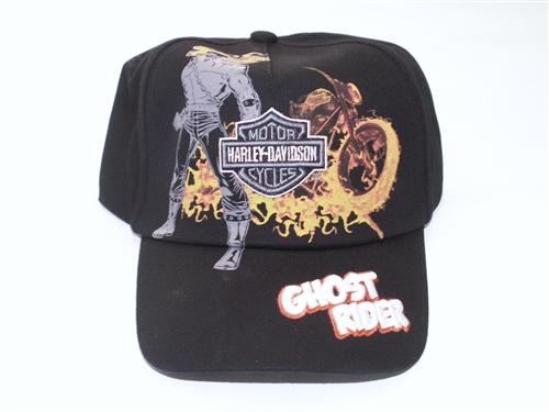 9227ff0e5 Harley Davidson Boys Ghost Rider Baseball Hat