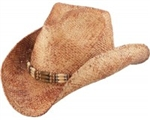 Henschel Burnished Straw Men's Cowboy Hat