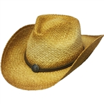 Men's Straw Cowboy Hats by Henschel