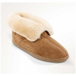Ladies Minnetonka Sheepskin Slippers Booties