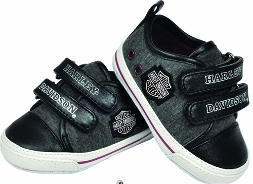 3a8150f1f Harley Davidson Baby Clothes - Boys Sneakers - Leather Bound Online