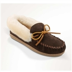 Ladies Alpine Sheepskin Minnetonka Slippers