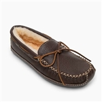 Men's Minnetonka Moccasin: Sheepskin Moose Slippers