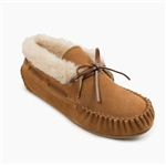 Women's Minnetonka Chrissy Slippers Moccasins Cinnamon
