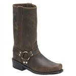 USA Made Boots: Double-H Men's Brown Harness