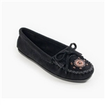 "Minnetonka ""Me to We Maasi"" Black Moccasins 400J"