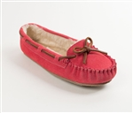 Minnetonka Slippers - Hot Pink Cally