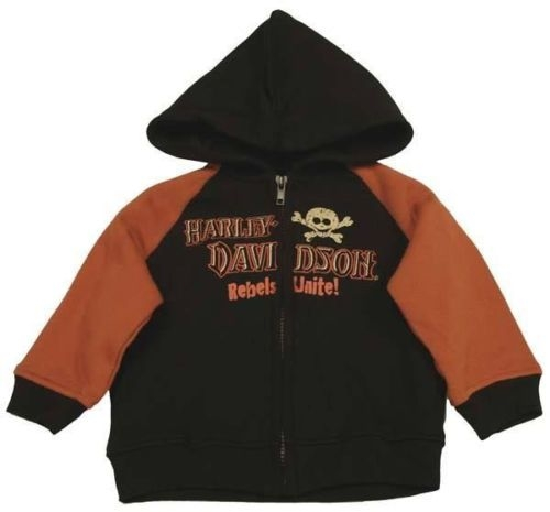 Harley Davidson Baby Clothes Infant Hoody Leather